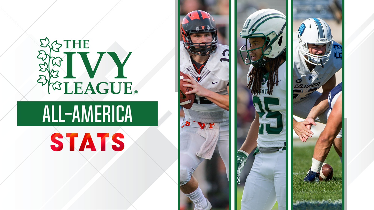 Six Ivies Recognized As Stats Fcs All Americans Ivy League
