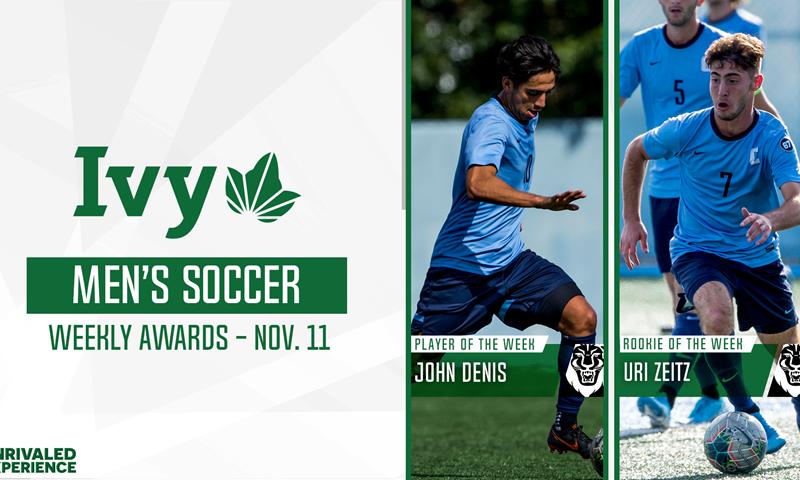 Columbia's Denis, Zeitz Sweep Men's Soccer Weekly Awards