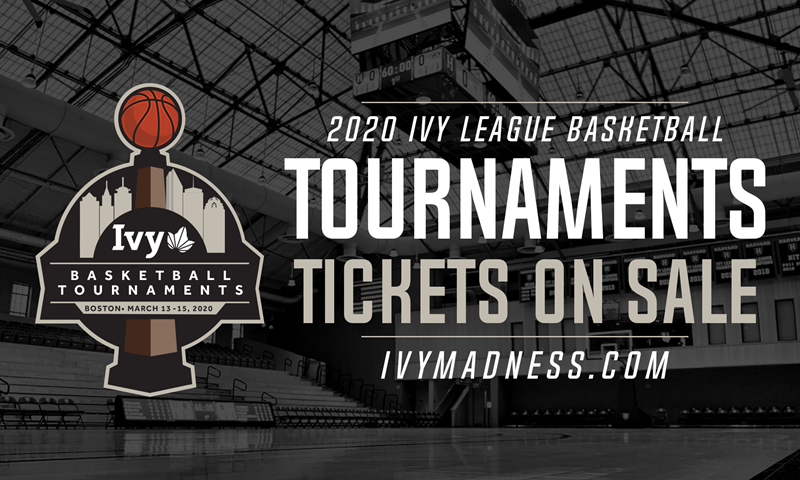 Tickets to the 2020 Ivy League Men's and Women's Basketball Tournaments on Sale Now