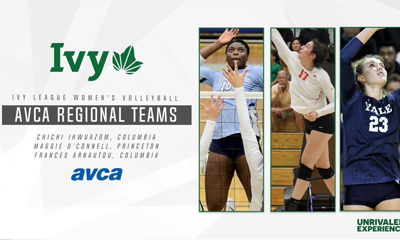 Three Ivies Earn AVCA All-Region Honors