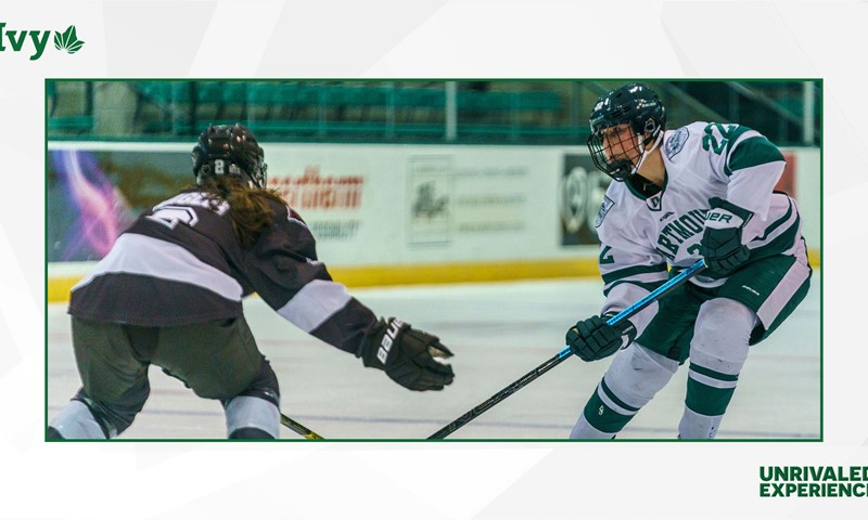 Three-Game Slate Takes Women's Ice Hockey Into Holiday Break