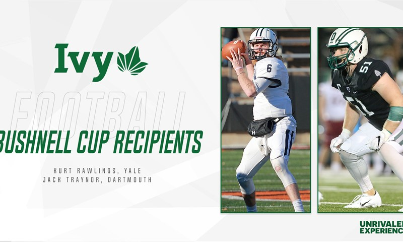 Rawlings, Traynor Named Ivy League PLayers of the Year, Bushnell Cup Recipients