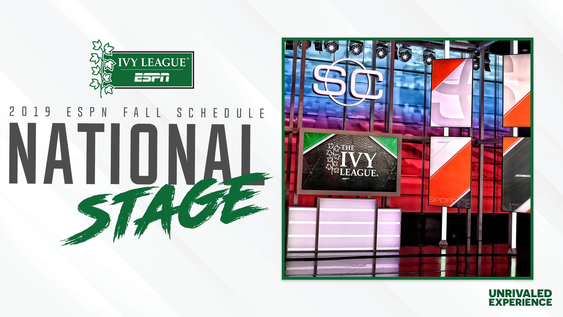 FCS-Leading Seven Ivy League Football Games Set for ESPN