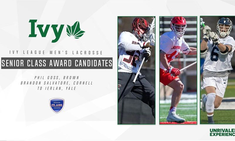 Three Ivies Named Candidates for Senior CLASS Award