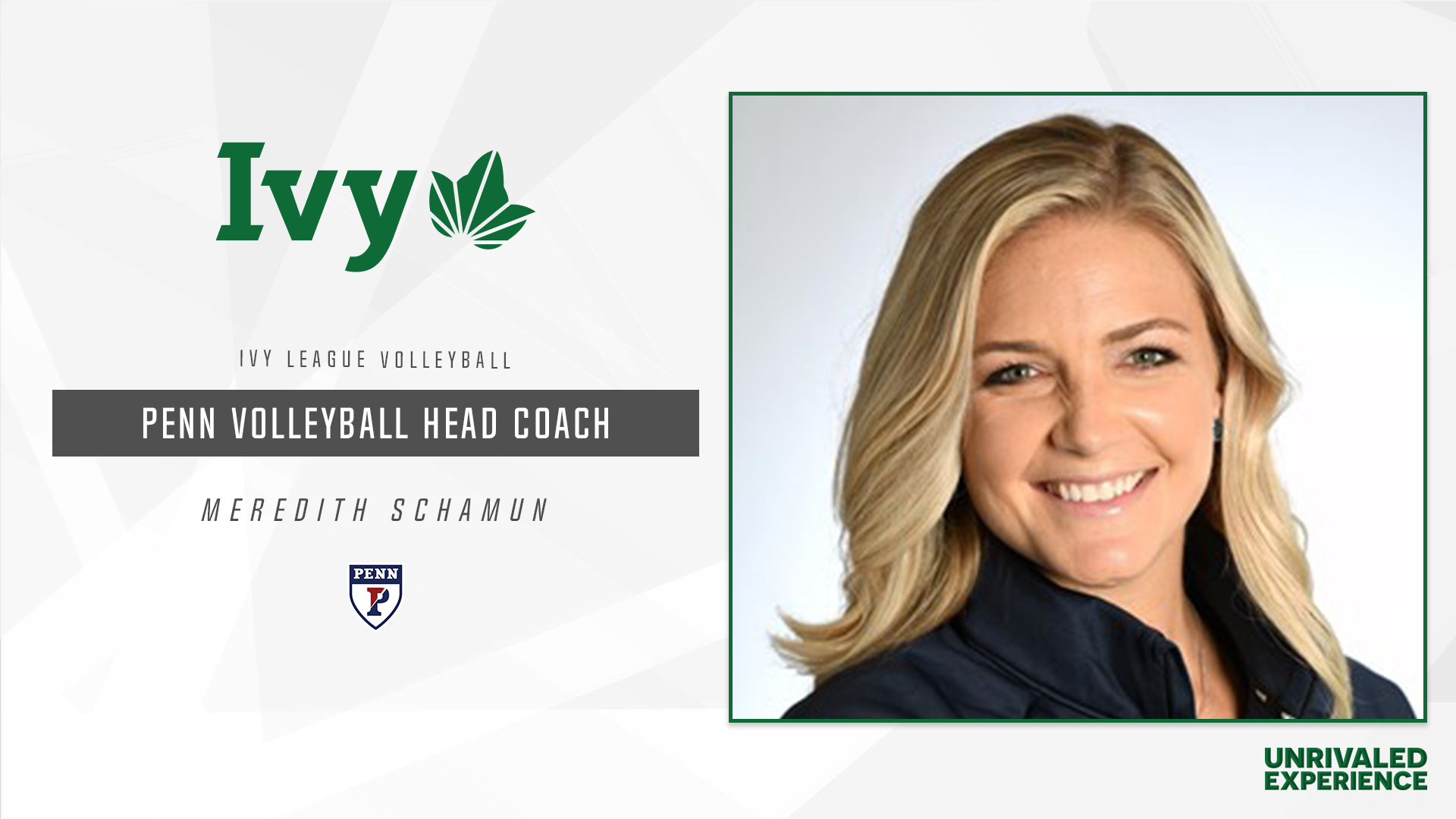 Schamun Named Penn Volleyball Head Coach Ivy League